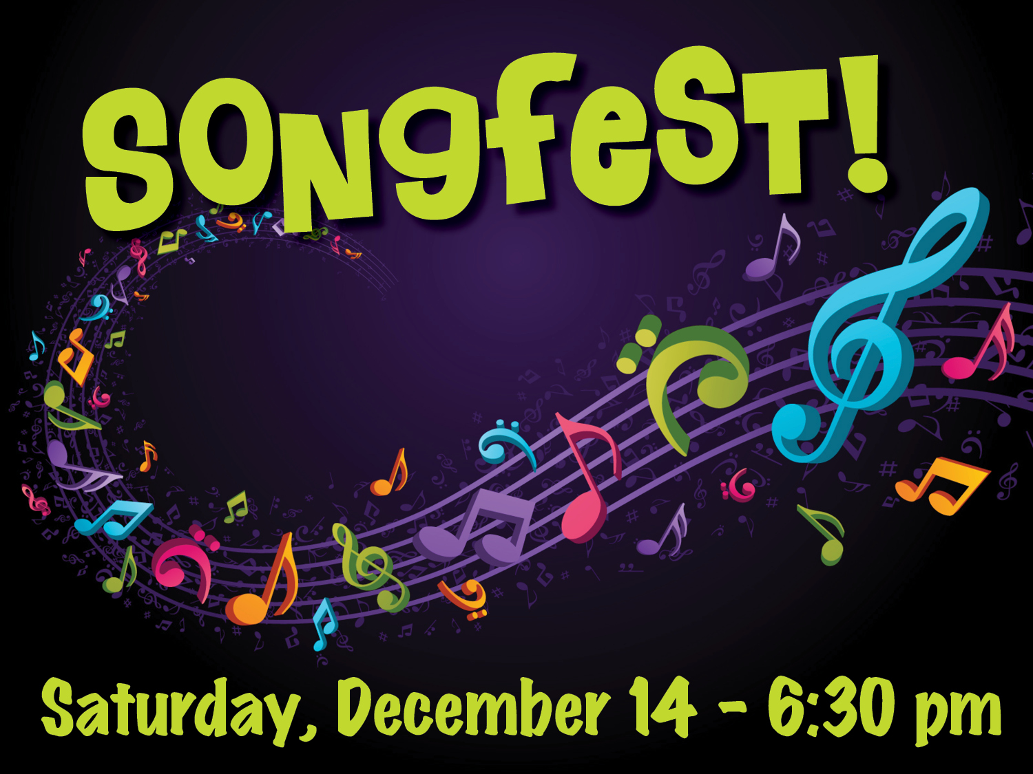 Songfest Christmas Coffeehouse