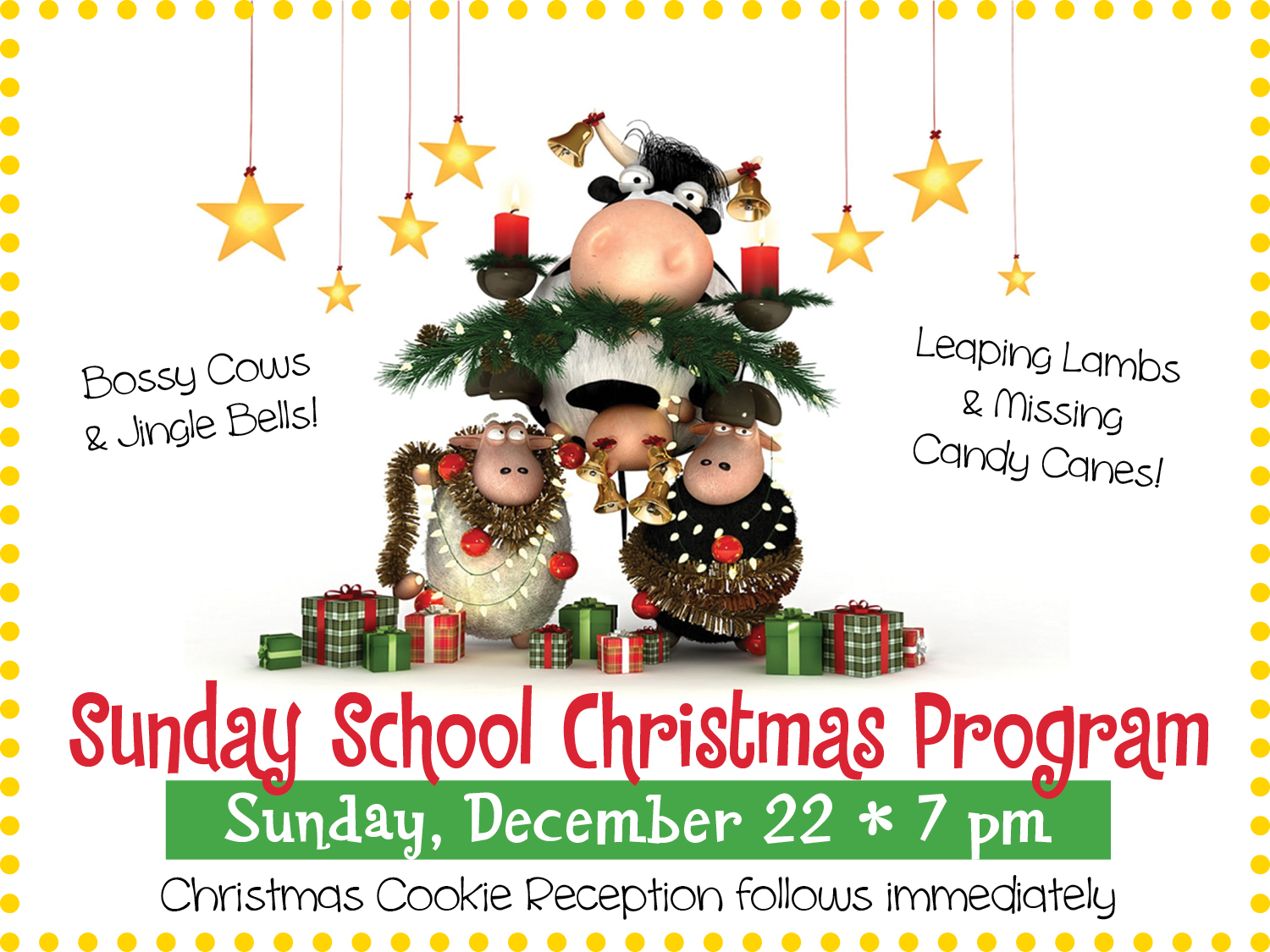 Sunday School Christmas Program @ The MACC | Pittston | Pennsylvania | United States