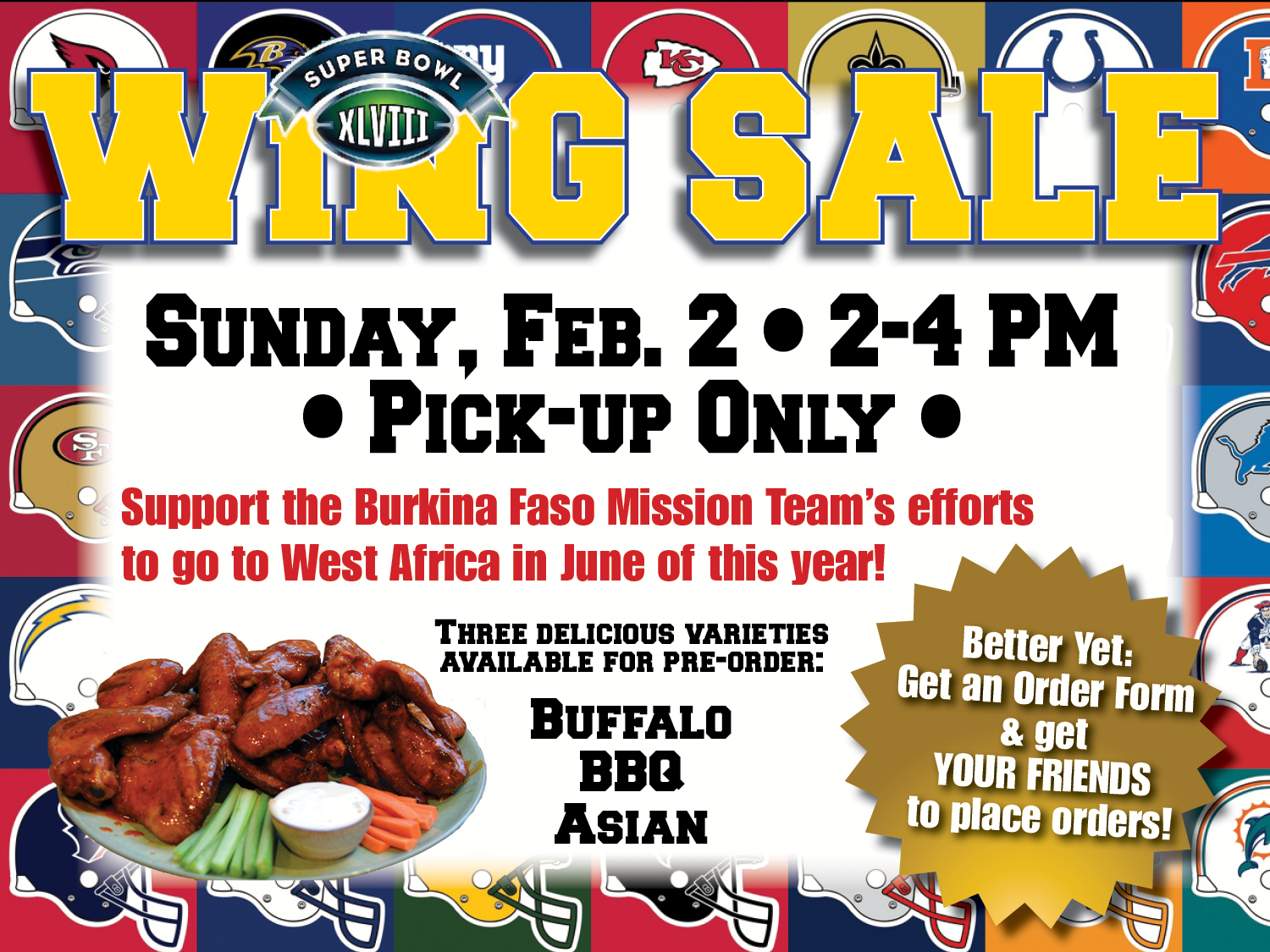 Super Wing Sale
