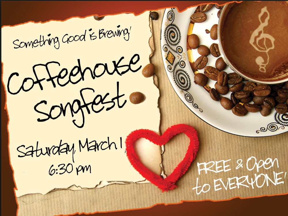Coffeehouse Songfest @ The MACC | Pittston | Pennsylvania | United States