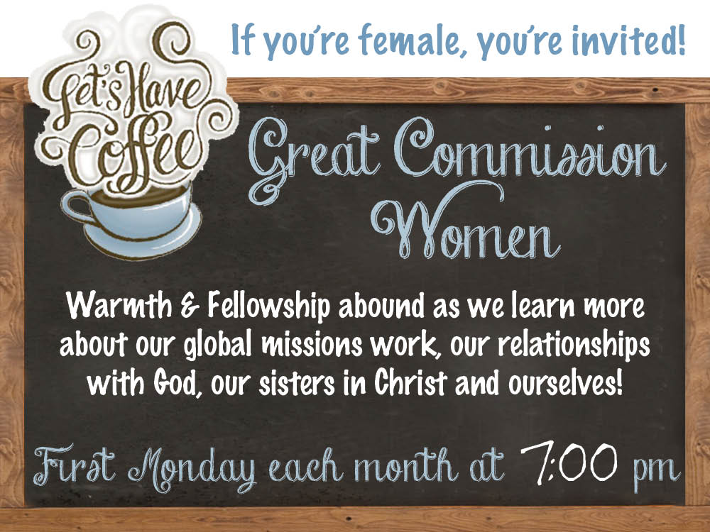 Great Commission Women's Meeting